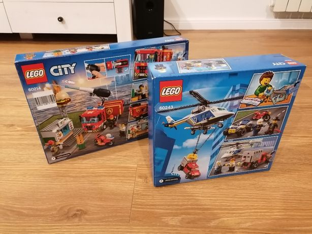 Zamiana / sprzedaż: 2 x zestaw nowe LEGO City 60243 + 60214