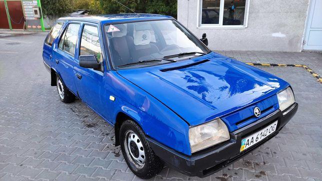 Skoda Forman LX 1994 1.3 л универсал синяя, ДВС после кап ремонта