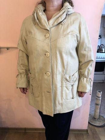 Куртка, пальто, плащ кожаная