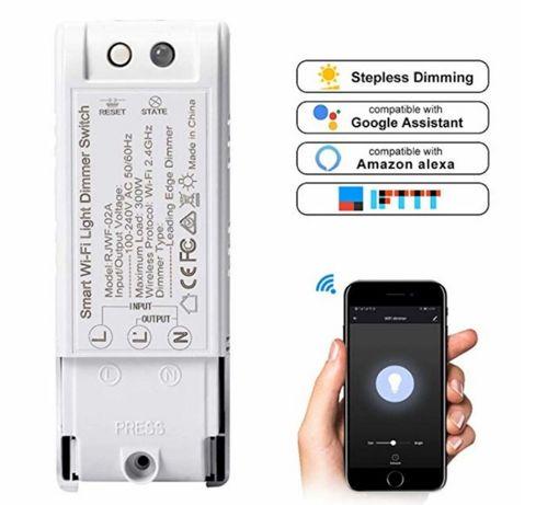 WIFI смарт выключатель, регулятор яркости (димер) choifoo, умный дом