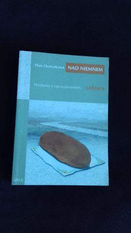 """Książka """"Nad Niemnem"""" - lektura szkolna, matura, liceum, WYD. GREG"""