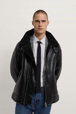 Зимняя куртка косуха дублёнка ZARA