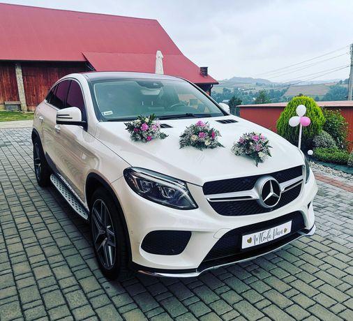 Mercedes GLE coupe do ślubu cała małopolska i nie tylko