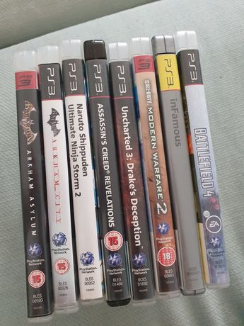Gry na ps3 arkham assassins call of duty battlefield naruto uncharted