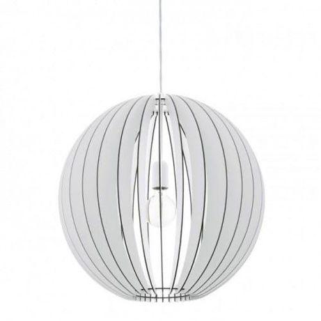 Lampa wisząca Cossano 94439 Eglo drewno