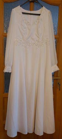 Suknia ślubna roz.44