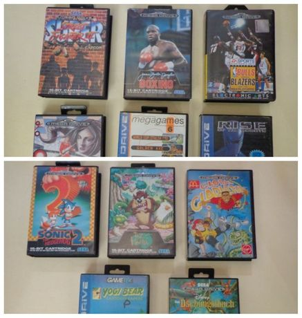 Jogo Mega Drive - Lote II