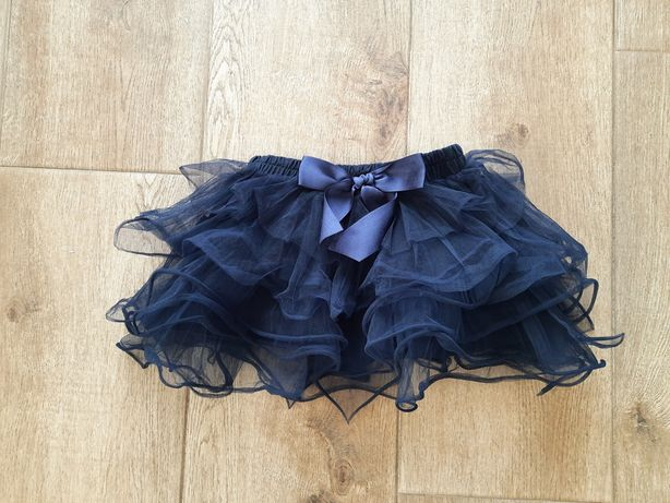 Tiulowa piękna spódnica r. 110