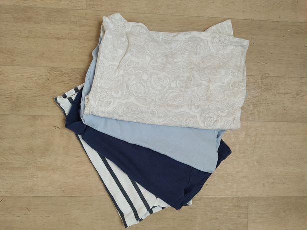 Bluzeczki z długim rękawem dla dziewczynki rozmiar 92