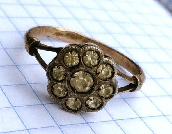 Кольцо серебро СССР 875 звезда МЮ31