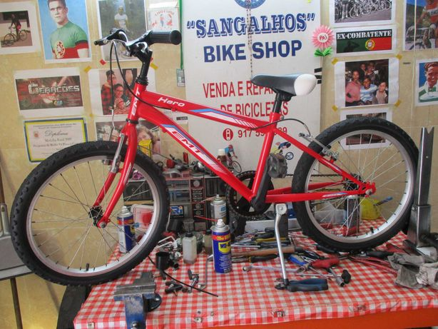 Bicicleta Júnior roda 20, p/ crianças 5-8 anos