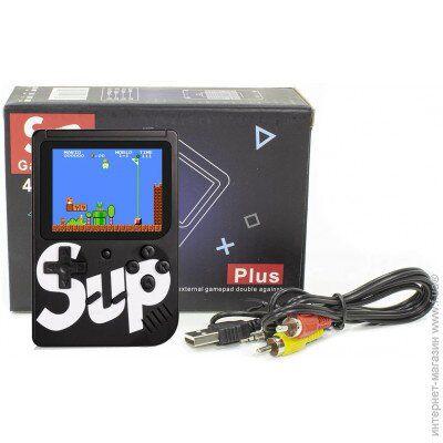 Игровая приставка ЧЕРНАЯ Game Box Sup 400 в 1 Консоль