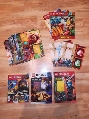 Lego Ninjago - gazety i plakaty + gratisy