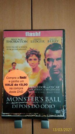 Dvd NOVO SELADO Monster's Ball Depois Ódio Halle Berry Billy Bob Ledge