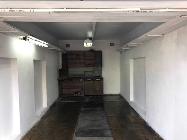 Garaż 41m2 Zabrze Rokitnica (Budowlana) długi kanał prąd światło