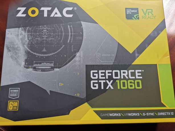 gtx 1060 6gb gddr5 zotac mini