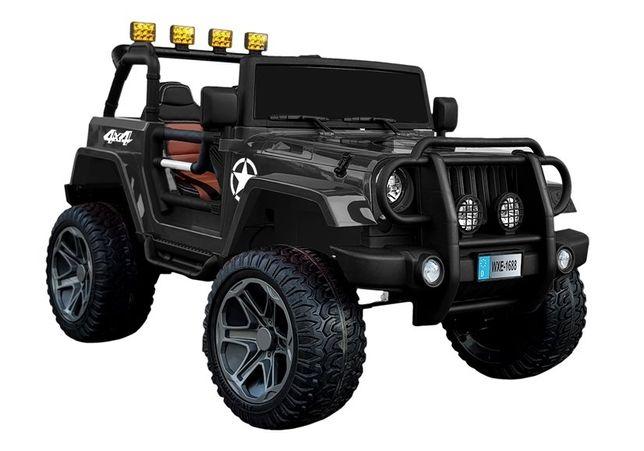 AUTO Monster Jeep NA AKUMULATOR 4x4 DUŻE Dzieci #
