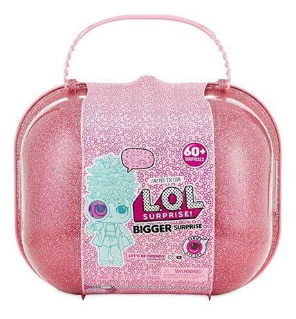ЛОЛ Мега-Сюрприз L.O.L. Surprise! Bigger Surprise большой чемодан шар