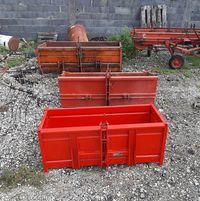 Caixas de carga usadas
