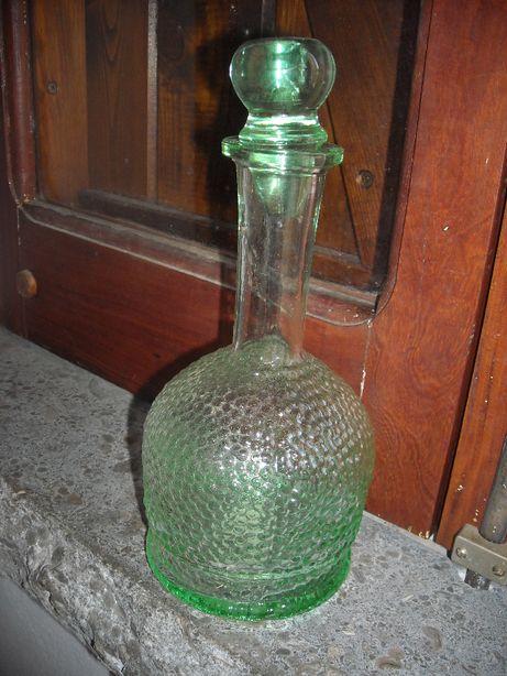 Garrafa licor vintage em vidro
