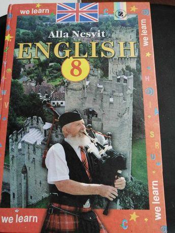 Англійська мова, підручник для 8 класу, автор А.Несвіт
