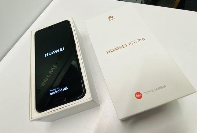 Huawei P20 PRO Stan BDB Czarny 6/128GB KOMPLET / Gwarancja