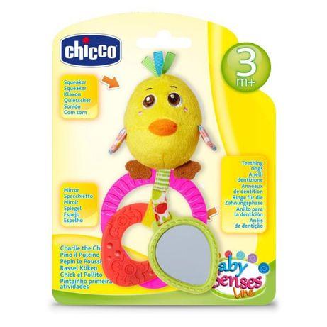 Погремушка плюшевая Chicco - Цыпленок
