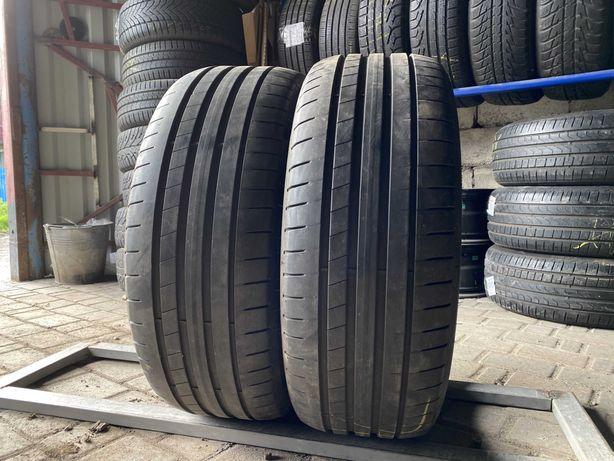 Лето RunFlat 225/45/R19 2017г 6.5мм Dunlop RSC 2шт шины шини летние