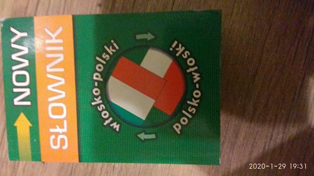 Nowy słownik włosko polski/ polsko włoski