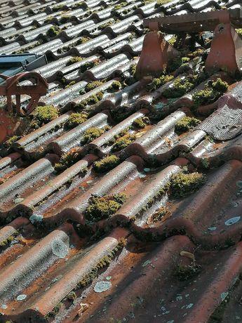 Czyszczenie dachów kostki brukowej