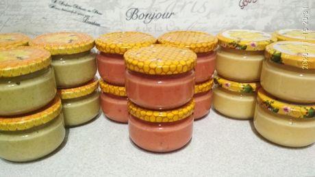 Домашній Крем-мед з фруктами малина/м'ята+лайм/імбир+лимон.Пилок,