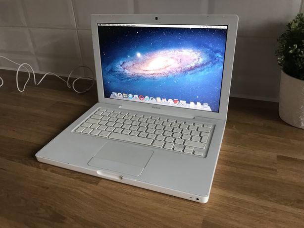 Bialy laptop apple - macbook a1181 - kamera - wifi - 13.3 cala
