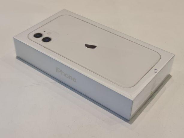 Apple iPhone 11 64GB White/Biały - nowy, gwarancja zafoliowany