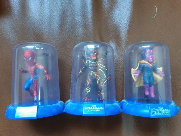 Trzy figurki Spider-Man Avengers