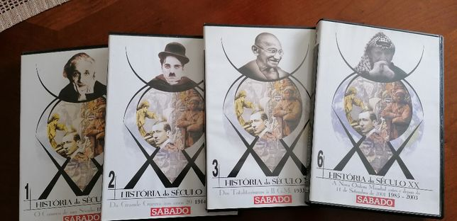DVD,s História do século XX