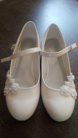 Buty komunijne 34 białe buty do komunii