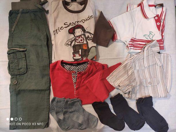Пакет одежды лето на мальчика р.104-110 (4-5 лет)