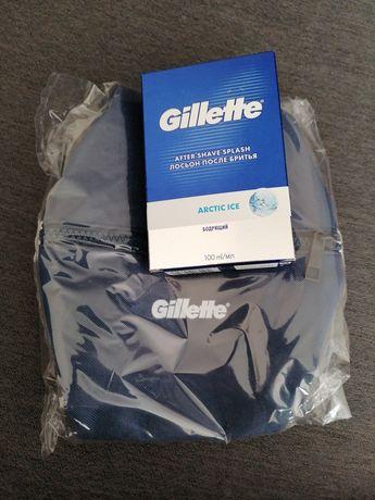 Woda po goleniu Gillette 100ml + kosmetyczka