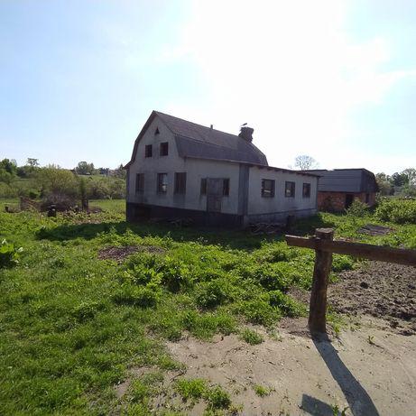 Недобудований дім 120²м, 33 сотки землі, ціна договірна