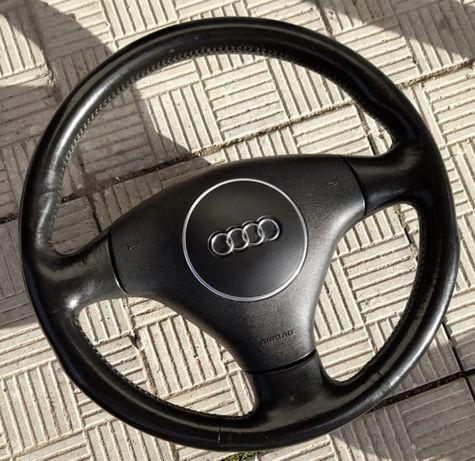 Kierownica skórzana z poduszką Audi A4 B6 Super stan!