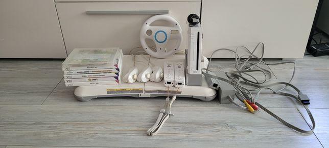 Nintendo Wii, pady, gry, mata, kierownica