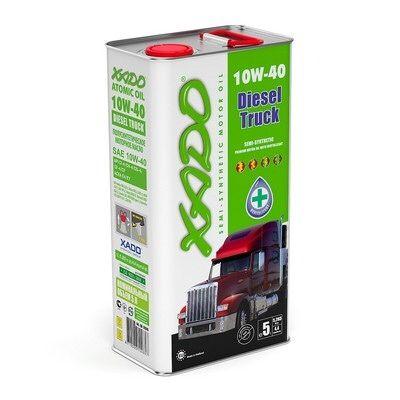 Полусинтетическое масло 10W-40 Diesel Truck XADO Atomic Oil 200л
