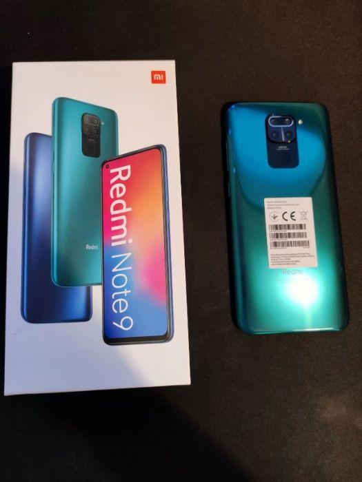 NOWY Smartfon Xiaomi Redmi Note 9 3 GB / 64 GB zielony Poznań - image 1