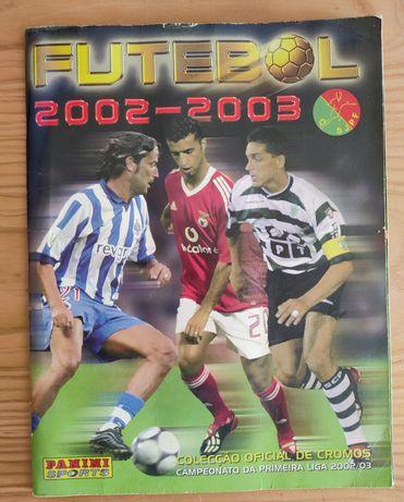 Caderneta Futebol Panini 2002/03