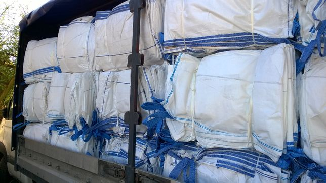 Używany worek big bag 90/90/200 cm wiele zastosowań