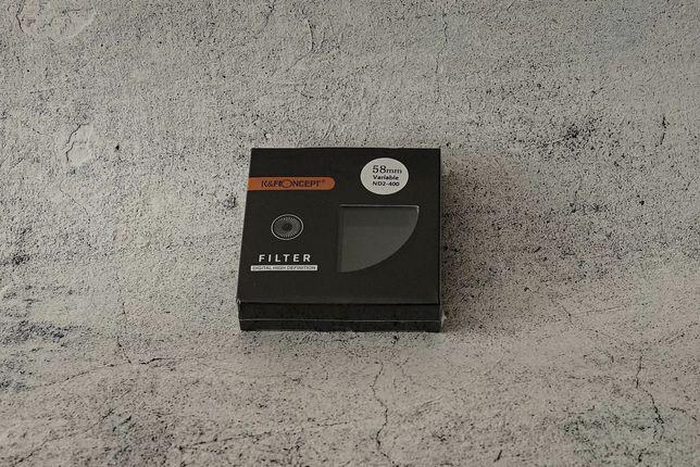 K&F Concept 58 мм ND2-400 cветофильтр переменной плотности