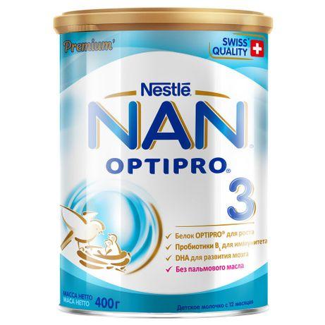 Смесь Nestle NAN Optirpo 3 с 12 месяцев 400 г