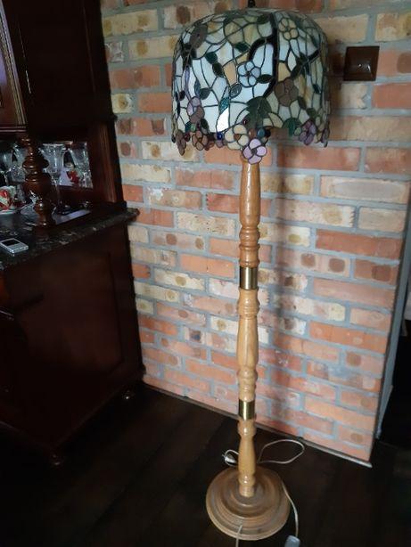 Lampa stojaca abazur witrarz ,recznie wykonana, pojedynczy egzemplarz.