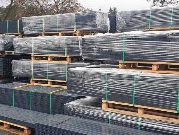 Słupki ogrodzeniowe do paneli 60x40x2200x1,3 mm PRODUCENT