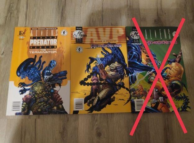 Komiksy Aliens vs Predator (2szt)